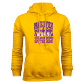 Gold Fleece Hoodie-Praire View marching Storm w/ Majors