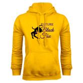 Gold Fleece Hoodie-Future Black Fox