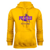 Gold Fleece Hoodie-Future Twirling Thunder