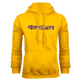 Gold Fleece Hoodie-#StormMacys