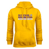 Gold Fleece Hoodie-Old School w/ Cloud