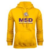 Gold Fleece Hoodie-MSD w/ PVAM Logo