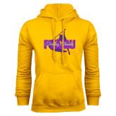 Gold Fleece Hoodie-PVAMU Twirling Thunder Logo