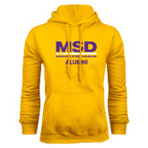 Gold Fleece Hood-MSD Alumni