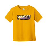 Toddler Gold T Shirt-PVAMU