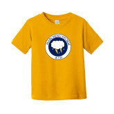 Toddler Gold T Shirt-Marching Storm Cloud Circle - Kid
