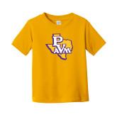 Toddler Gold T Shirt-PVAM Texas