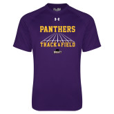 Under Armour Purple Tech Tee-Track & Field Design