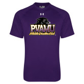 Under Armour Purple Tech Tee-Athletic Directors Club