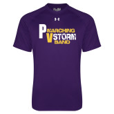 Under Armour Purple Tech Tee-PV Marching Storm Band