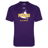 Under Armour Purple Tech Tee-Twirling Thunder Alumni