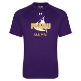 Under Armour Purple Tech Tee-Twirling Thunder Alumni
