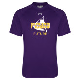 Under Armour Purple Tech Tee-Future Twirling Thunder