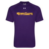 Under Armour Purple Tech Tee-#StormMacys