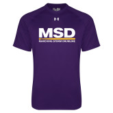 Under Armour Purple Tech Tee-MSD