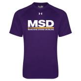 Under Armour Purple Tech Tee-MSD