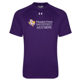 Under Armour Purple Tech Tee-Alumni