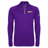 Under Armour Purple Tech 1/4 Zip Performance Shirt-PVAMU
