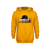 Youth Gold Fleece Hood-Official Logo