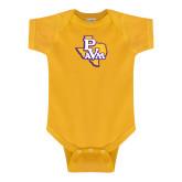 Gold Infant Onesie-PVAM Texas