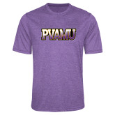 Performance Purple Heather Contender Tee-PVAMU