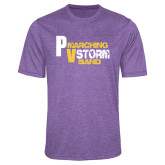Performance Purple Heather Contender Tee-PV Marching Storm Band