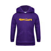 Youth Purple Fleece Hoodie-#StormMacys