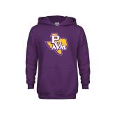 Youth Purple Fleece Hoodie-PVAM Texas