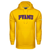 Under Armour Gold Performance Sweats Team Hoodie-Arched PVAMU