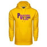 Under Armour Gold Performance Sweats Team Hoodie-PV Marching Storm Band