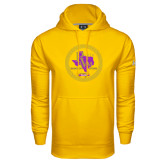 Under Armour Gold Performance Sweats Team Hoodie-PVAM Marching Band Seal