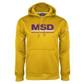 Under Armour Gold Performance Sweats Team Hoodie-MSD