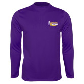 Syntrel Performance Purple Longsleeve Shirt-PV Marching Storm Band