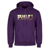 Purple Fleece Hood-PVAMU