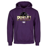Purple Fleece Hood-Dad