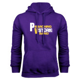 Purple Fleece Hoodie-PV Marching Storm Band