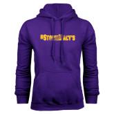 Purple Fleece Hood-#StormMacys