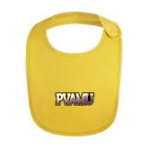 Yellow Baby Bib-PVAMU