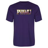 Performance Purple Tee-PVAMU