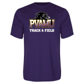 Syntrel Performance Purple Tee-Track & Field
