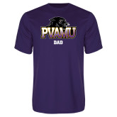Performance Purple Tee-Dad