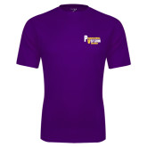 Syntrel Performance Purple Tee-PV Marching Storm Band