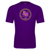 Syntrel Performance Purple Tee-PVAM Marching Band Seal