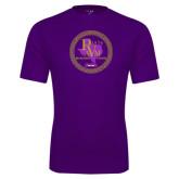 Performance Purple Tee-PVAM Marching Band Seal