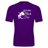 Syntrel Performance Purple Tee-Future Black Fox