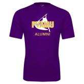 Performance Purple Tee-Twirling Thunder Alumni