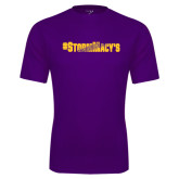 Syntrel Performance Purple Tee-#StormMacys