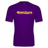 Performance Purple Tee-#StormMacys