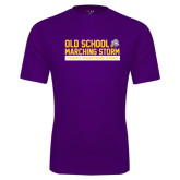Syntrel Performance Purple Tee-Old School w/ Cloud