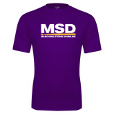 Syntrel Performance Purple Tee-MSD